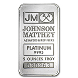 5 oz (Platinum Bars)