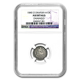 Liberty Seated Half Dimes (1837 - 1873) (Certified)
