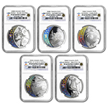 2010 & Prior RCM Silver Commemorative Collectible Coins (Sets)