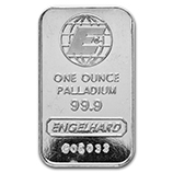 Engelhard (Palladium Bars & Rounds)