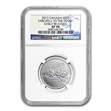 2012 RCM Silver Commemorative Collectible Coins (NGC Certified)
