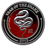 New Zealand Mint (Snake Coin Series)
