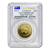 1 oz Gold Nugget Coins (PCGS Certified)