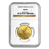 1/2 oz Gold Libertads (NGC Certified)