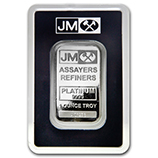 Johnson Matthey (Platinum Bars & Rounds)