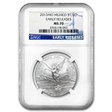 Fractional Silver Libertads (NGC Certified)