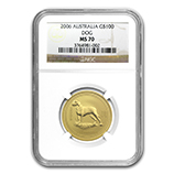 Perth Mint Gold (2006 Dog Coins) (NGC Certified)