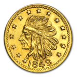 California Fractional & Territorial Gold Coins