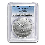 Mexican Silver Libertads (PCGS Certified)