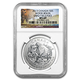 RCM Silver Wildlife Series (NGC Certified)