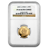 1/4 oz Gold Krugerrands (NGC Certified)
