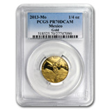 1/4 oz Proof Gold Libertads (PCGS Certified)