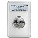 2 oz Silver Libertads (Proof Versions) (PCGS Certified)