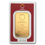Austrian Mint (Gold Bars)