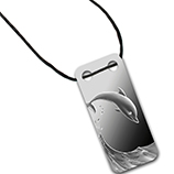 Silver PAMP Suisse (Wave Elements Ingot Pendants)