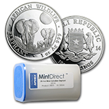 Somalia Elephant Series (MintDirect®)