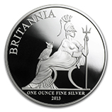 Silver Britannias (Proof)