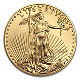 Gold American Eagles