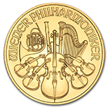 1 oz Gold Philharmonics