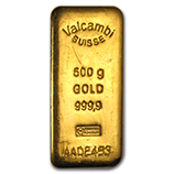 500 gram (Gold Bars & Rounds)