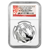 2014 RCM Silver Commemorative Collectible Coins (NGC Certified)