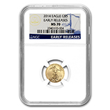 1/10 oz Gold Eagles (NGC Certified)