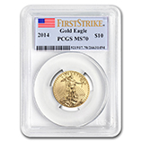 1/4 oz Gold Eagles (PCGS Certified)
