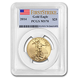 1/2 oz Gold Eagles (PCGS Certified)