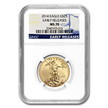 1/2 oz Gold Eagles (NGC Certified)