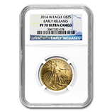 1/2 oz Proof Gold Eagles (NGC Certified)