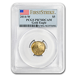 1/10 oz Proof Gold Eagles (PCGS Certified)