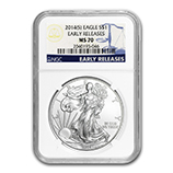 Silver Eagles (San Francisco Mint) (NGC Certified)