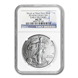 Silver Eagles (West Point Mint) (NGC Certified)