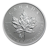 RCM Silver Maple Leafs w/Privy Marks (Uncirculated)