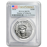Platinum Eagles (PCGS Certified)