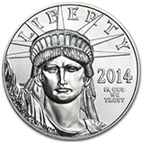 1 oz Platinum Eagles