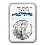 Silver Eagles (Burnished NGC Certified)