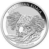 Perth Mint Koala Coins (Fractional Size)