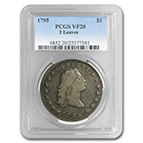Early Silver Dollars (1794 - 1804) (Certified)