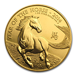British Royal Mint (Gold Lunar Coins)