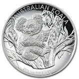 Perth Mint High Relief Koala Series