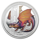 Perth Mint Mythical Creatures Series