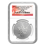 RCM Silver Maple Leafs w/Privy Marks (NGC Certified)