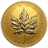 1 oz Proof Gold Maple Leafs