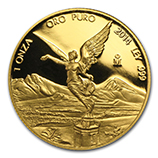 1 oz Proof Gold Libertads