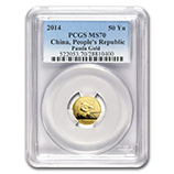 1/10 oz Gold Pandas (PCGS Certified)