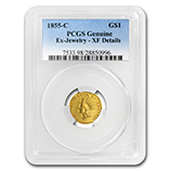 PCGS $1.00 US Gold (Type 1, 2 & 3) (1849 - 1889)