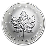 RCM Silver Maple Leafs (Proof Coins)