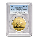 China Gold Panda Coins (PCGS Certified)