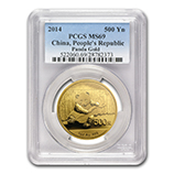 1 oz Gold Pandas (PCGS Certified)